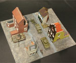 A106 - Street Diorama Base Set